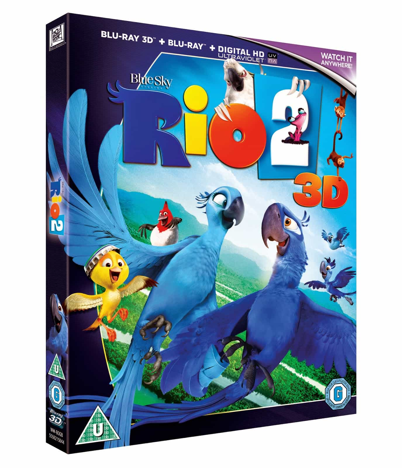 Win 1 Of 3 Copies Of Rio2 On Blue Ray