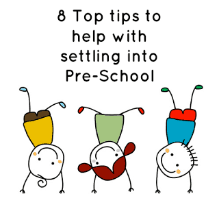 8 Top Tips for settling into Pre School