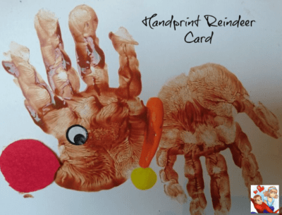 4 Handprint Christmas Card Ideas for Children