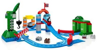 Simple Review Mega Bloks Thomas and Friends Zooming Along at Brendam Docks