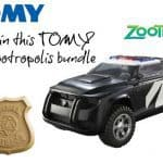 Giveaway: Win a Disney Zootropolis toy bundle from TOMY