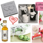 7 different wedding favor ideas