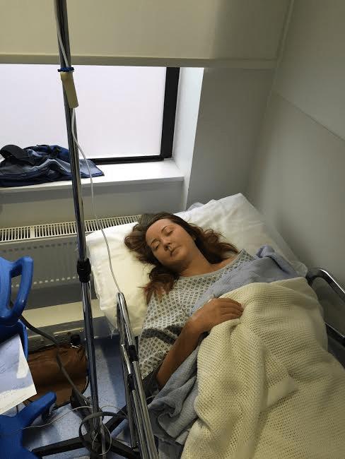 Jo in hospital 2