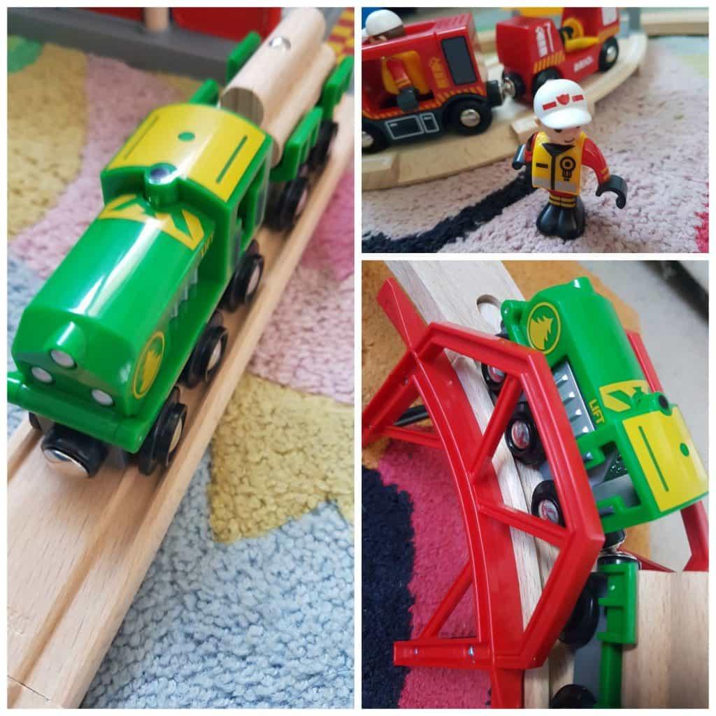 Fire train set