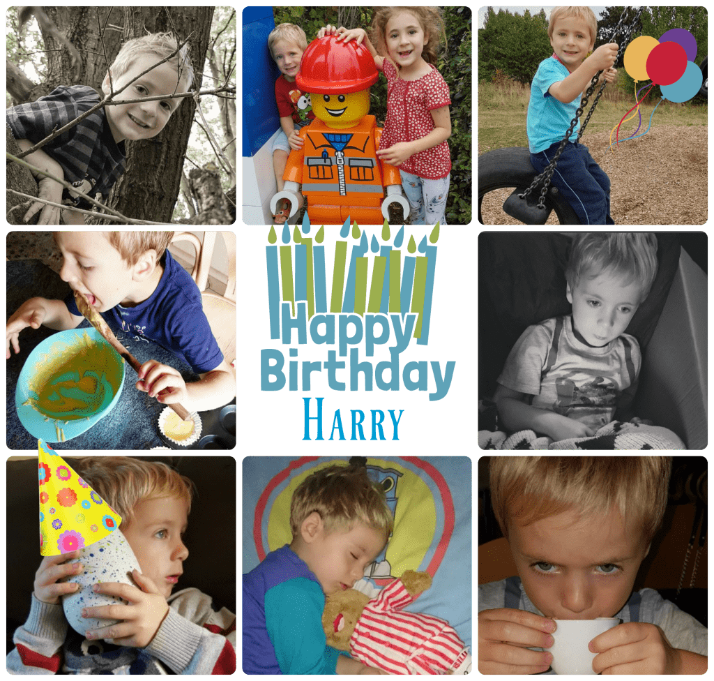 Happy 4th Birthday Harry