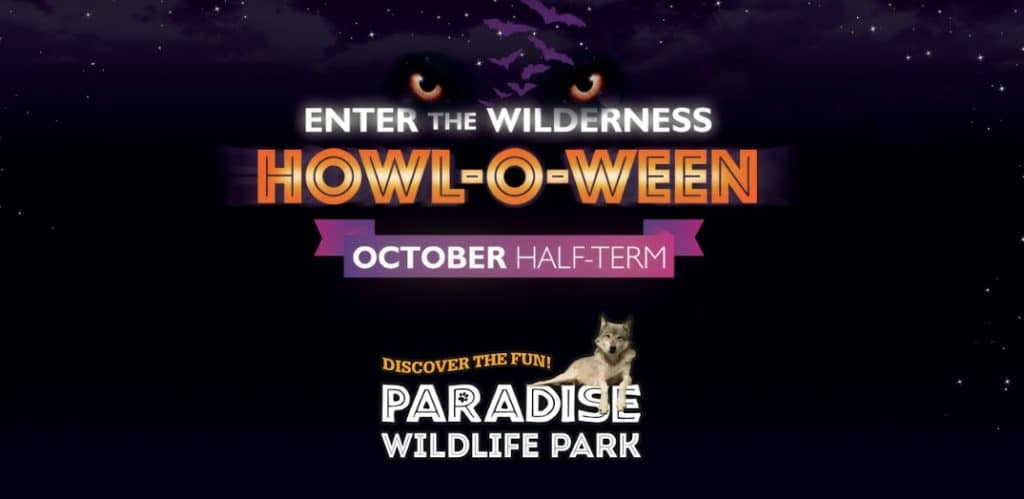 Howl-o-ween Paradise wildlife park