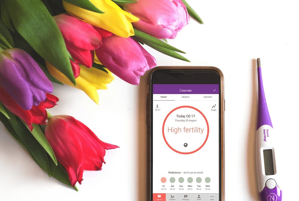 Nutural cycles fertility tracking app