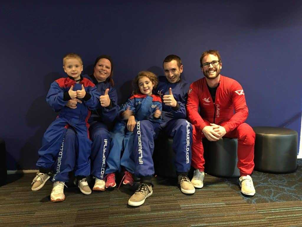 iFly after pic with Sean