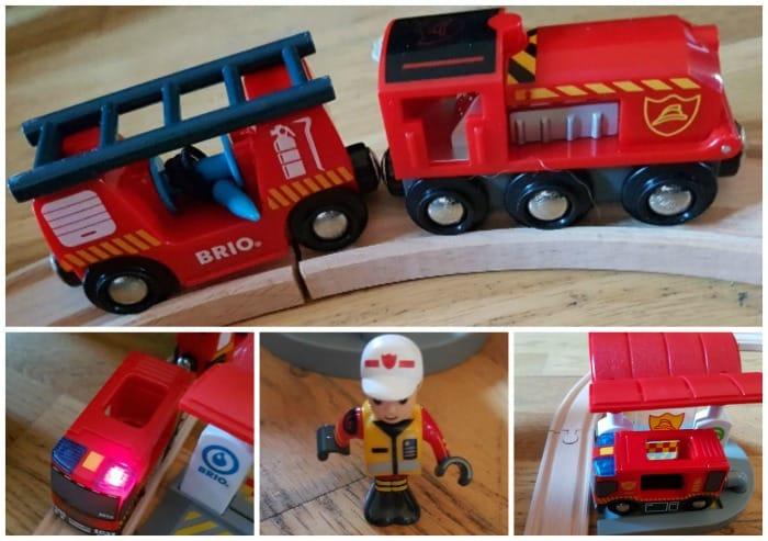 Brio firefighter set review