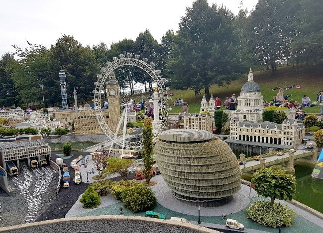 No visit is complete without a trip to LEGO City. The kids love looking at the model version of London