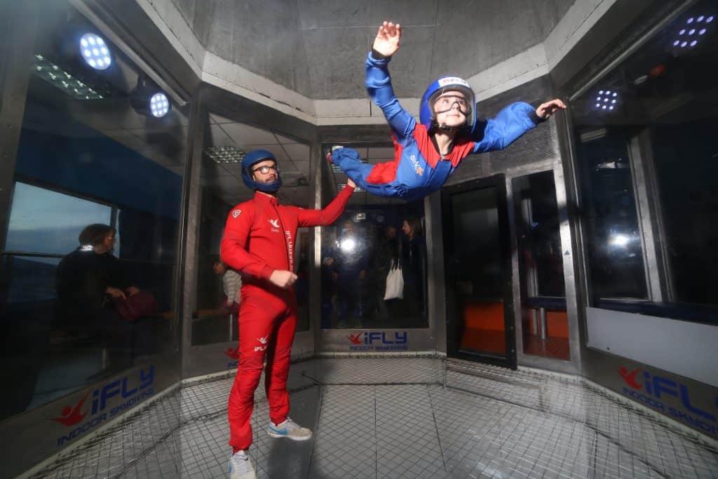 Emmy's indoor skydive