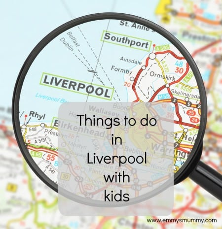 Things to do in Liverpool with kids