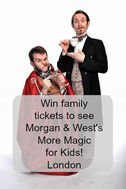 win tickets to see More Magic for Kids!