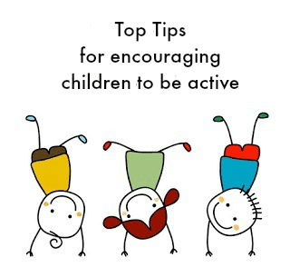 Top tips for encouraging kids to be active