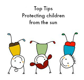 Top Tips for proctecting children from the sun