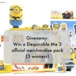 Giveaway: Win Despicable Me 3 official merchandise packs