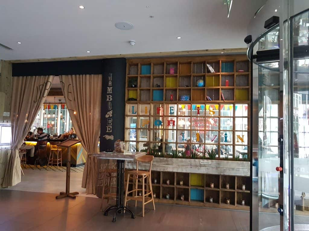 Jamberee bar - Novotel Blackfriars review