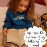Top tips for encouraging children to read