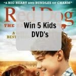 Red Dog: The Early Years Review and Giveaway to win 5 kids DVD's