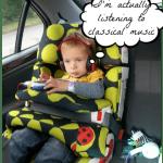 Long car journeys and children