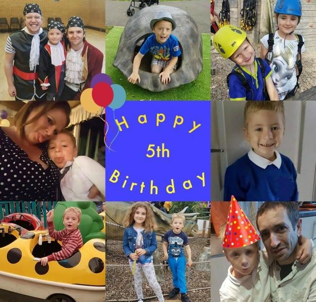 Happy 5th Birthday Harry