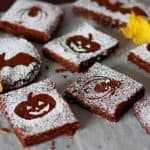 Spooky Black Bean Brownies