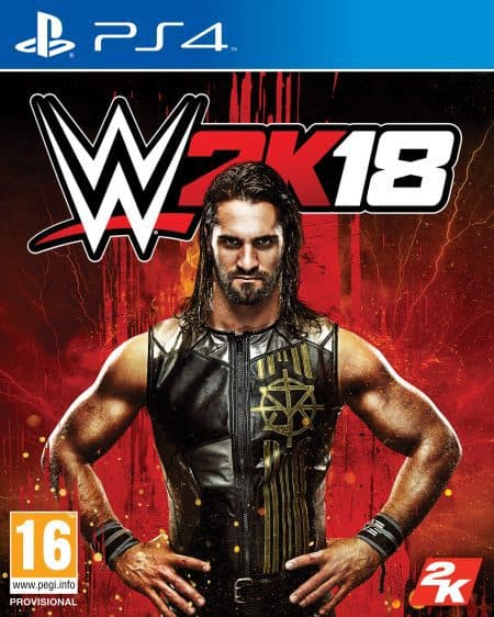 WWE2K18 game for PS4