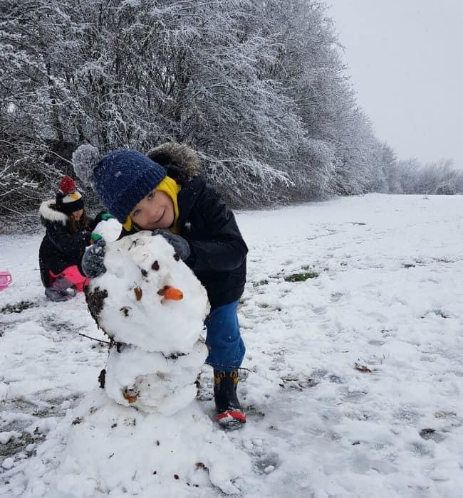 Harry's snowman