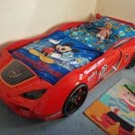 Harry's Bedroom Makeover part 1 – Vento V10 racing car Bed from Babios UK