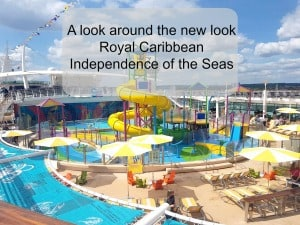 Independence of the seas 2018 makeover