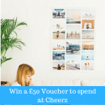 Giveaway: Win a £50 to spend at Cheerz