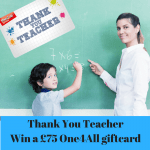Celebrating hard working teachers with an One4All Giftcard Giveaway