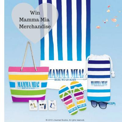 win Mamma Mia merchandise