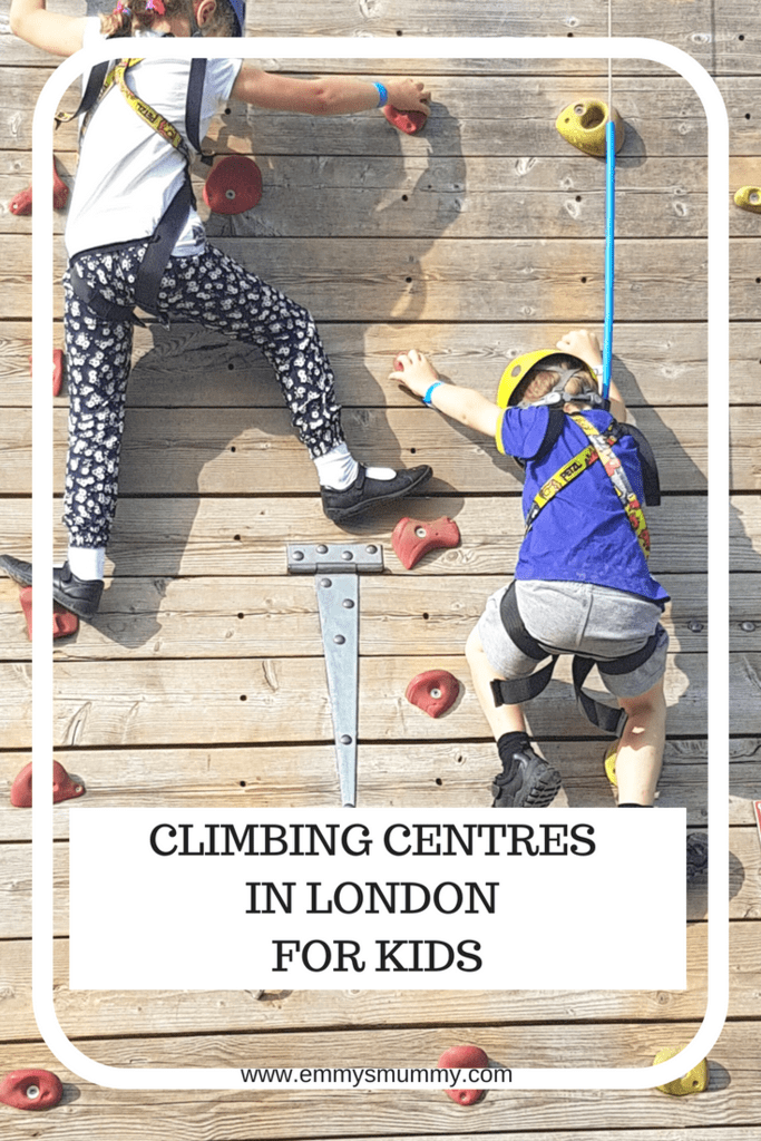 climbing centres in london for kids