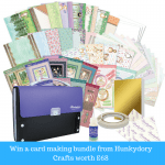 *CLOSED* Giveaway: Win a cardmaking bundle from Hunkydory Crafts worth £68