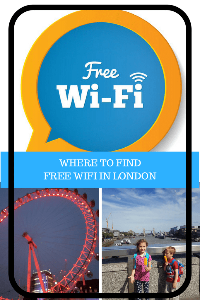 Where to find free wifi in london
