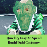 Quick and Easy no Spend Roald Dahl Costumes