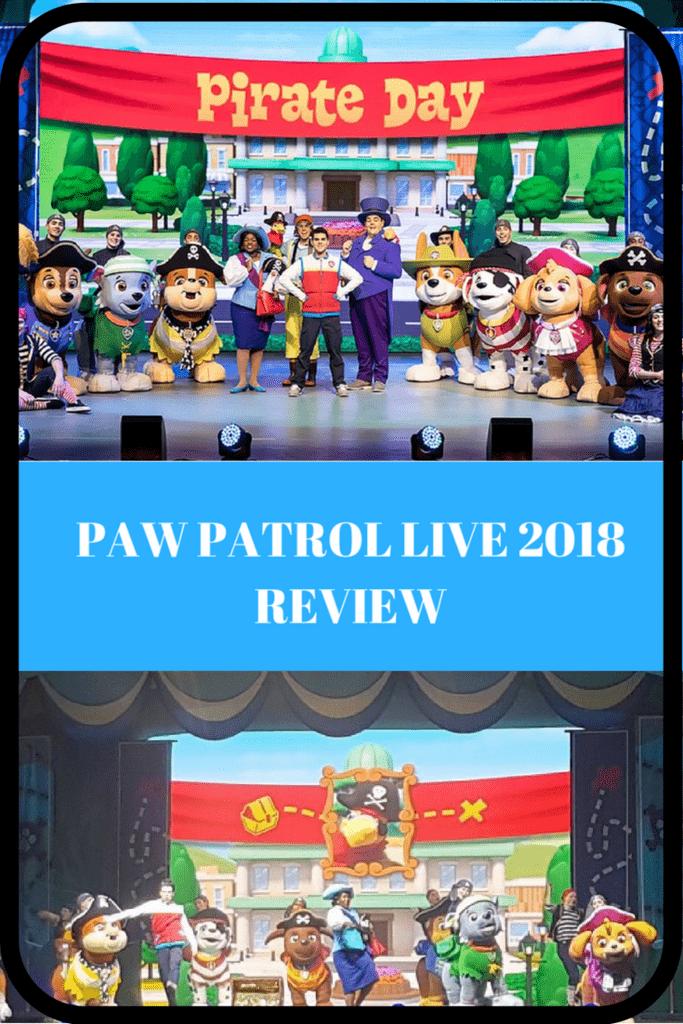 Paw Patrol Live review
