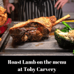 Roast Lamb arrives at Toby Carvery (finally)