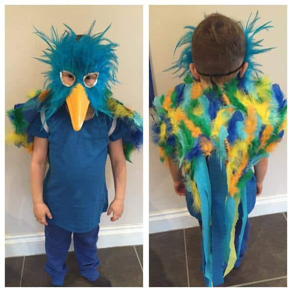 Roly Poly Bird costume Roald Dahl