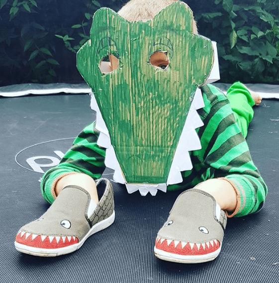 Crocodile Mask for Roald Dahl Day