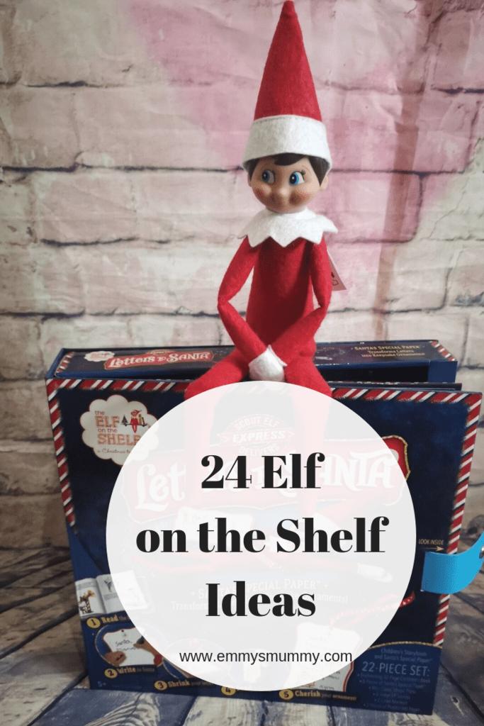 24 elf on a shelf ideas