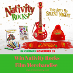 Nativity Rocks hits screens on 23rd November – Merchandise #Giveaway