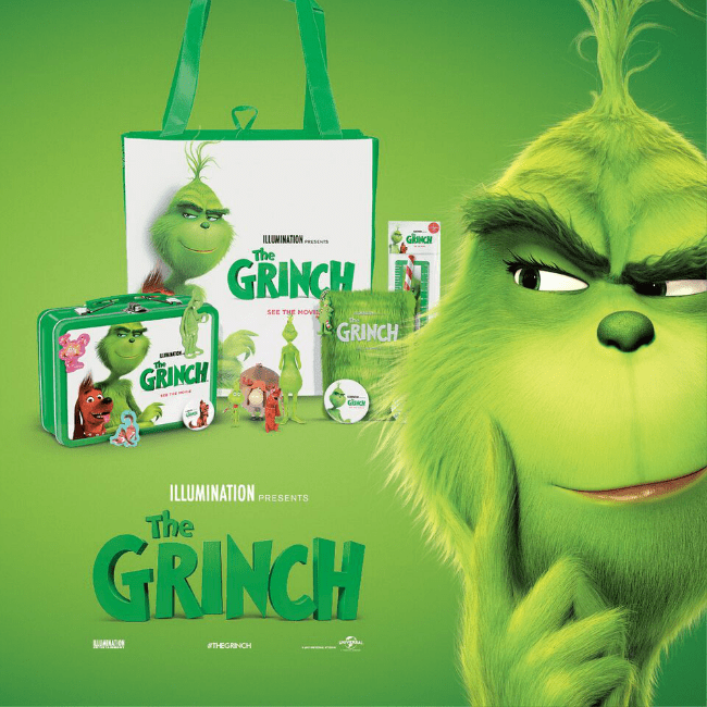 win the grinch merchandise