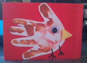 Reindeer Christmas Cards Hand Prints.4 Handprint Christmas Card Ideas For Children Emmy S Mummy