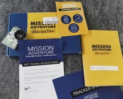 Mission Adventure subscription box