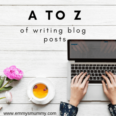 A to Z of writing blog posts