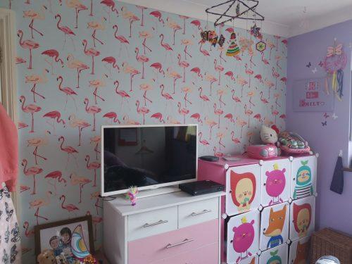 Retro Wallpaper Plume Abstract Yellow Grey White Street Prints Paste The Wall
